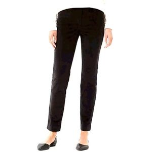 J. Jill Pincord Ankle Pants Slim Straight Leg New